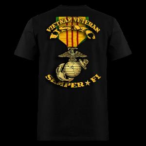 Vietnam Veteran VVR and EGA  - Men's T-Shirt