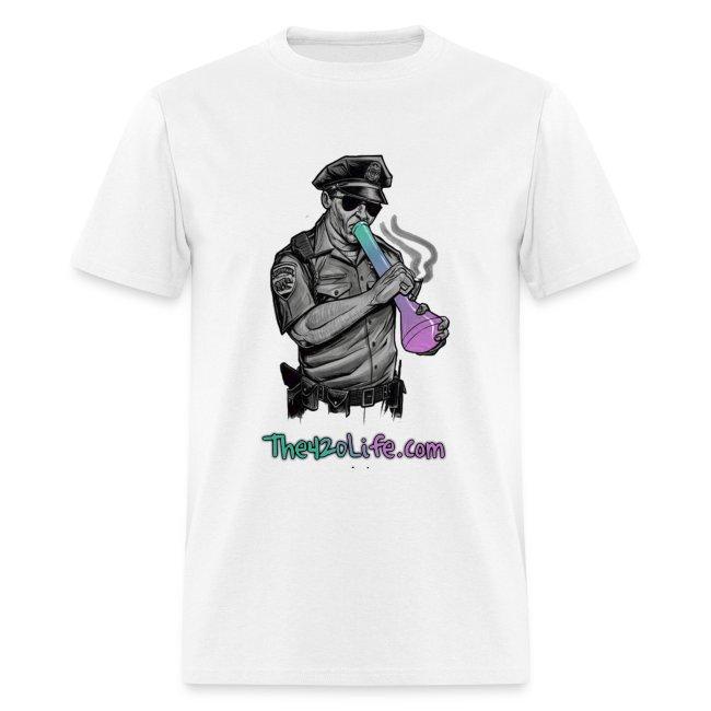 """COP SMOKING"" T-Shirt Men"