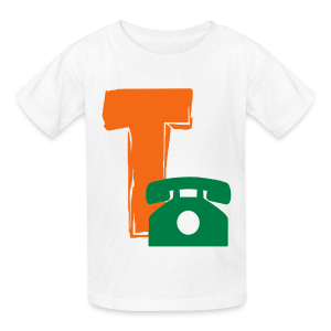 T Telephone - Kids' T-Shirt