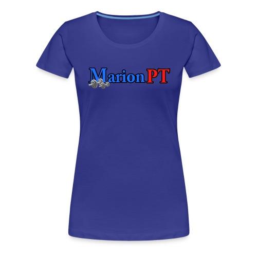 MarionPT classic women blue - Women's Premium T-Shirt