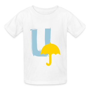 U Umbrella - Kids' T-Shirt