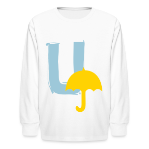U Umbrella - Kids' Long Sleeve T-Shirt