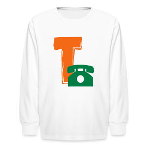T Telephone - Kids' Long Sleeve T-Shirt