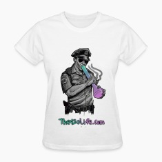 """COP SMOKING"" T-Shirt Women"