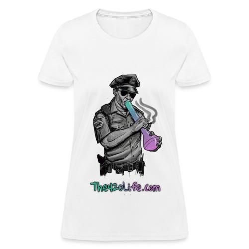 COP SMOKING T-Shirt Women - Women's T-Shirt