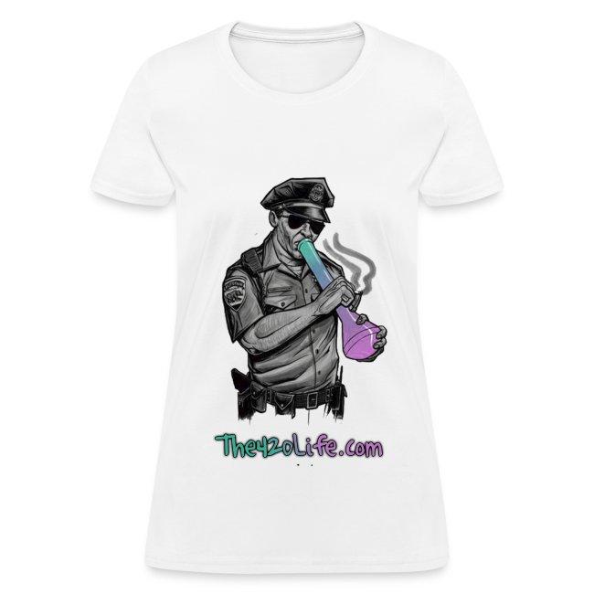 """""""COP SMOKING"""" T-Shirt Women"""