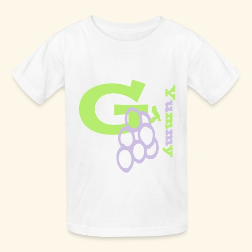 G Grapes Yummy - Kids' T-Shirt