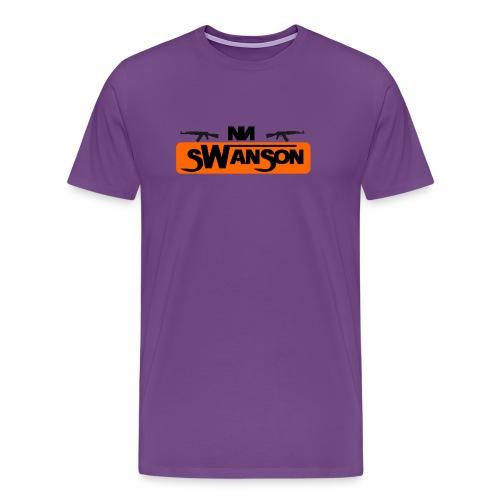Swanson Box purp - Men's Premium T-Shirt