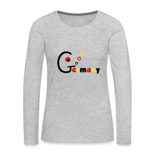 Germany - Women's Premium Long Sleeve T-Shirt