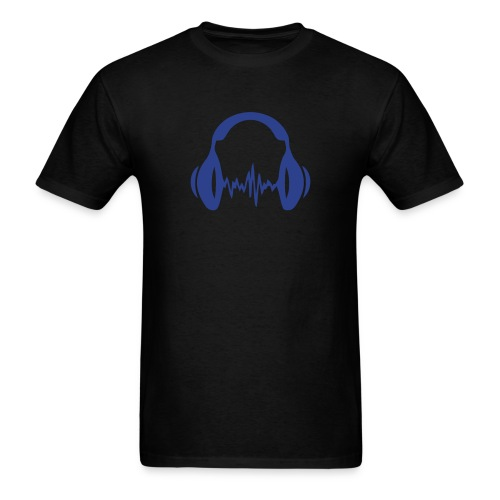 DJ Headphones- Embracing the Beat - Men's T-Shirt