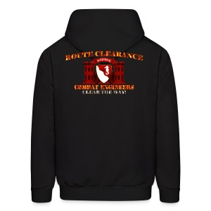 36th En Bde - RC Sapper Back Only - Men's Hoodie