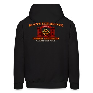 4th ID - RC Sapper Back Only - Men's Hoodie