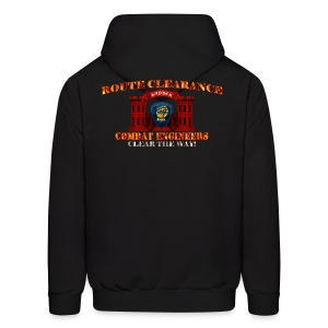 46th ID - RC Sapper Back Only - Men's Hoodie