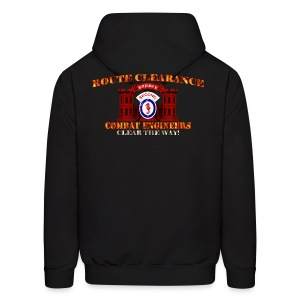 2nd En Bde - RC Sapper Back Only - Men's Hoodie