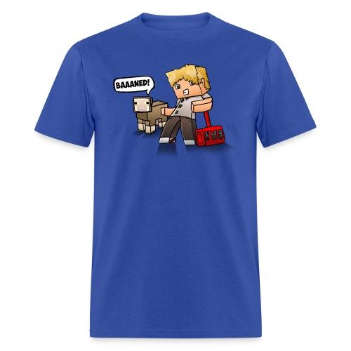 ChadTheDJ: BAAAned - Men's T-Shirt