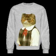 Long Sleeve Shirts ~ Crewneck Sweatshirt ~ Cat Sweatshirt