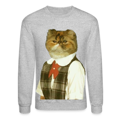 Cat Sweatshirt - Crewneck Sweatshirt
