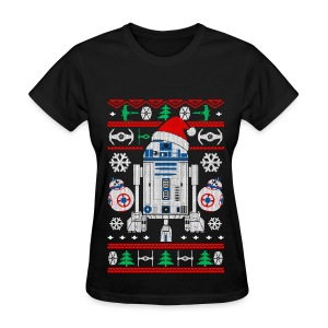 Droid Christmas Sweater Women - Women's T-Shirt