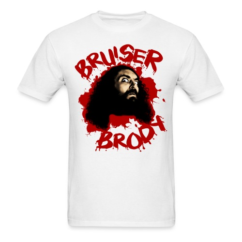 Brody#1 White - Men's T-Shirt