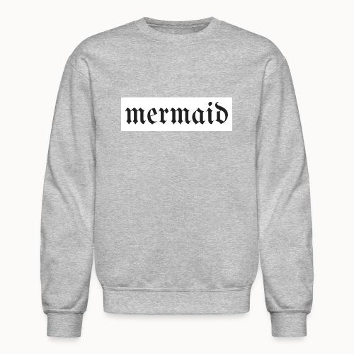 Women's Gothic Mermaid Sweatshirt - Crewneck Sweatshirt
