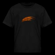 Kids' Shirts ~ Kids' T-Shirt ~ The Hawk - Digital Orange (Kids)