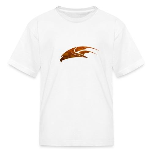 The Hawk - Digital Orange (Kids) - Kids' T-Shirt
