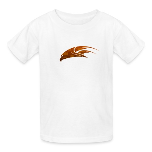 The Hawk - Digital Orange (Kids) - Kids' T-Shirt