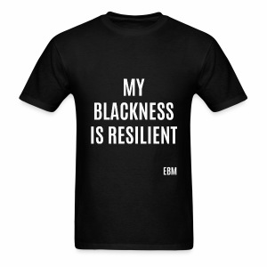 Resilient Black Man T-shirt by Stephanie Lahart. - Men's T-Shirt