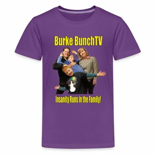 Kids Premium Burke BunchTV T-Shirt - Kids' Premium T-Shirt