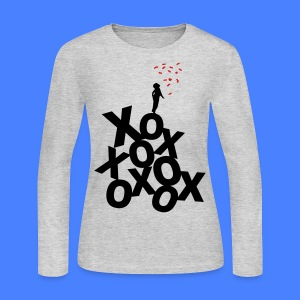 XO Long Sleeve Shirts - stayflyclothing.com - Women's Long Sleeve Jersey T-Shirt