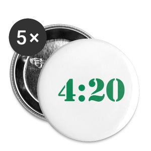4:20 Buttons - Small Buttons