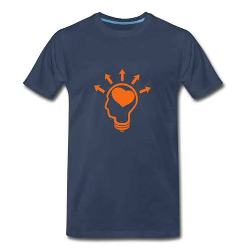 * Think Love Ideas *  - Men's Premium T-Shirt