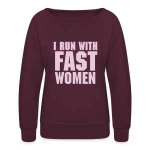 Crew Neck / Women / Plum - Women's Crewneck Sweatshirt