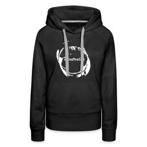Neutralia Logo Hoodie Black (Women's) - Women's Premium Hoodie