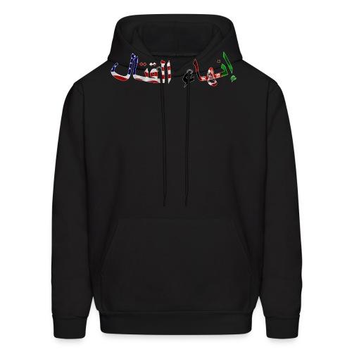 ANASOC - Flag Lettering - Men's Hoodie