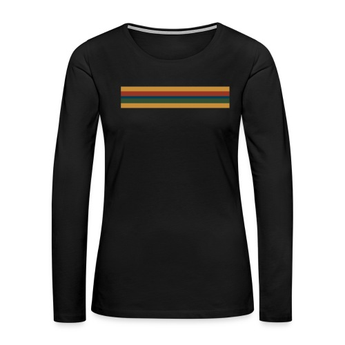 13th Doctor - women's long sleeve - Women's Premium Long Sleeve T-Shirt