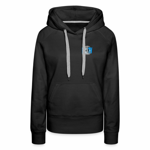Women's Top Quality Hoodie with Burke BunchTV Circle Logo - Women's Premium Hoodie