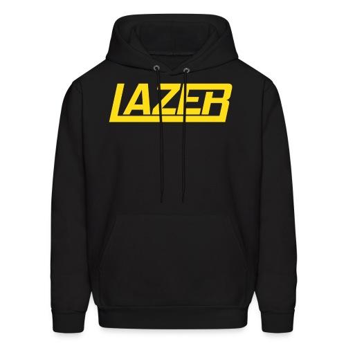 Yellow Logo Lazer Sweatshirt - Men's Hoodie