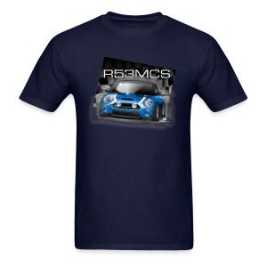 Mini Cooper R53MCS Blue Tee - Men's T-Shirt