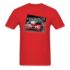 Mini Cooper R53MCS Red Tee - Men's T-Shirt