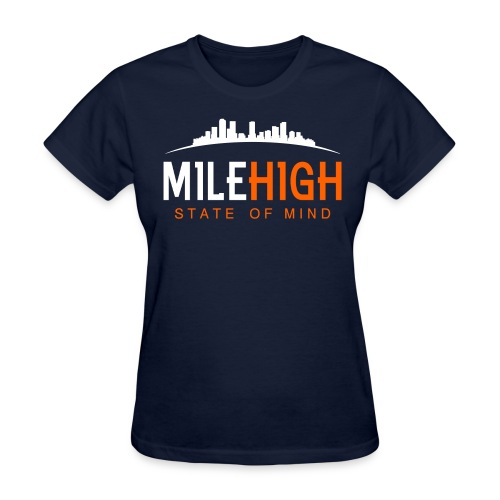 Mile High State: Broncos T-Shirt - Women's T-Shirt