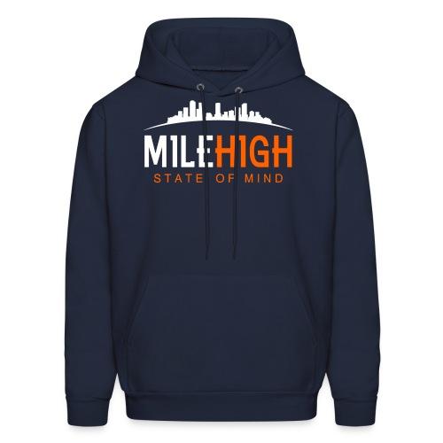 Mile High State: Broncos Hoodie - Men's Hoodie