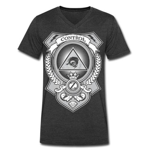 Money Shirt by CTRL+Z - Men's V-Neck T-Shirt by Canvas