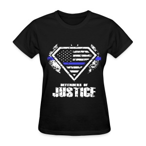 Defenders Of Justice (W) - Women's T-Shirt