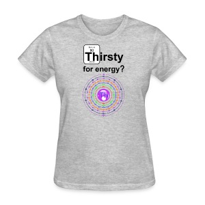 Thirsty C f - Women's T-Shirt