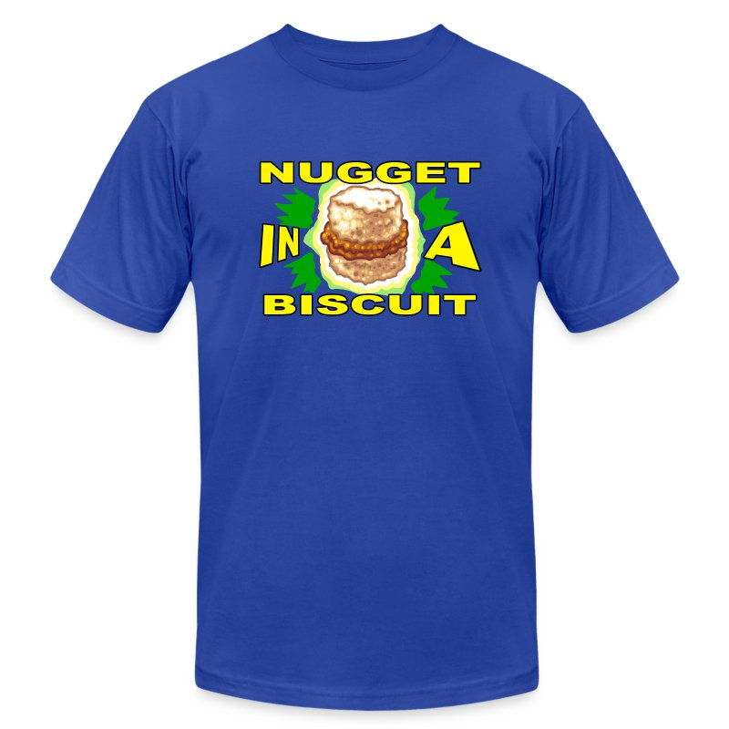 NUGGET in a BISCUIT - Men's T-Shirt by American Apparel