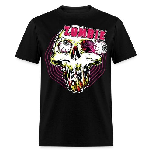 Zombie face - Zombie T-Shirt - Spreadshirt  - Men's T-Shirt