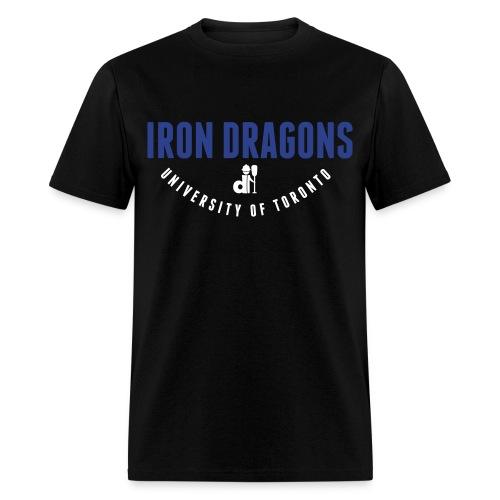 Iron Dragons: Design #5 - Men's T-Shirt