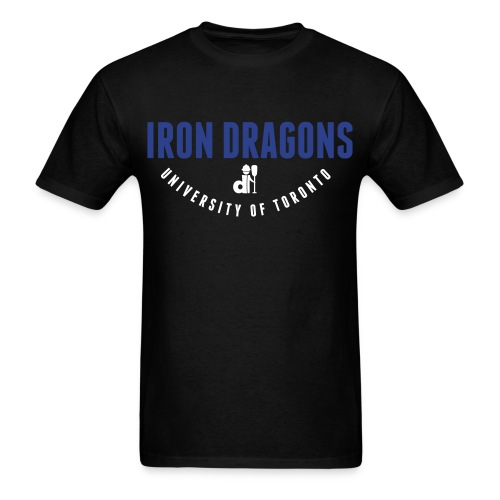 Iron Dragons: Design #5 - Men's T-Shirt