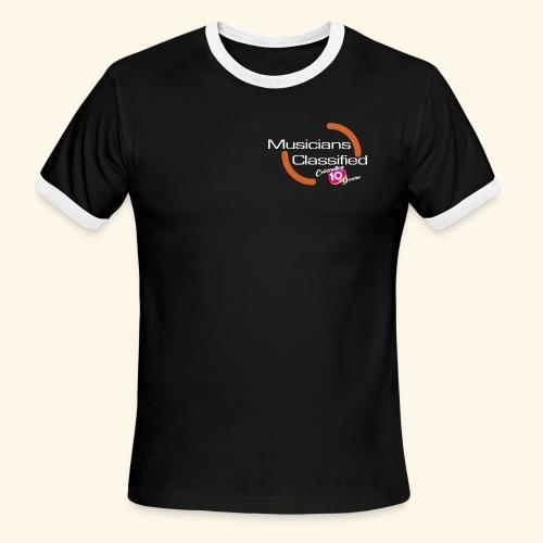 Mens Ringer T-Shirt LTD ED 10 Year Anniversary - Men's Ringer T-Shirt